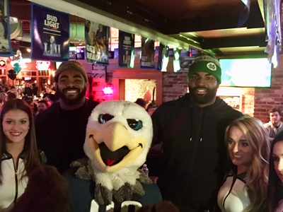 Chickie's Proud Partner of Philadelphia Eagles